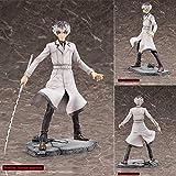 LJUCTD Tokyo Ghoul de pie Ken Kaneki Actor Blanco colección protagonista Estatua decoración Anime Pe...