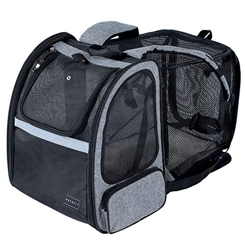Petsfit Large Expandable Dog Backpack Carrier with Good Ventilation for Pets up...