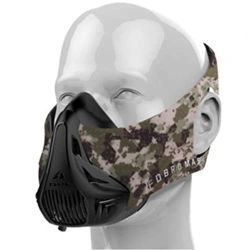 FDBRO High Altitude Simulator Training Mask Conditioning All Sports Workout Fitness