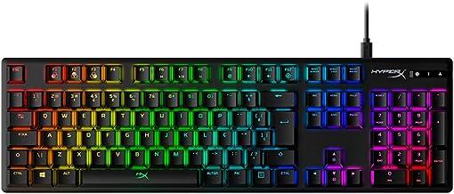 Teclado Mecânico Gamer Alloy Origins HyperX Vermelho