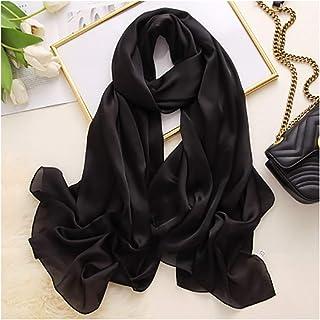 Daytwork Donna Accessori Sciarpe Stole Fazzoletti da Testa Donna Elastico Cotone Foulard Musulmano Islamico Hijab Tappo per Tubo Tinta Unita
