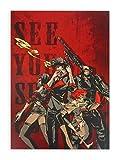 CoolChange Hochwertiges Cowboy Bebop Wandbild auf