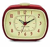 Kikkerland Retro Alarm Clock, 1 EA, Red