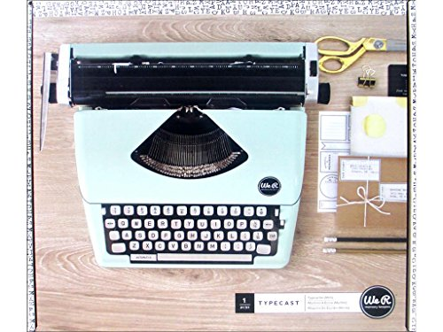 We R Memory Keepers Typewriter Mint Macchina da Scrivere, Multicolore, Taglie Unica