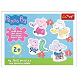 Trefl TR36086 Die reizende Wutz, Peppa Pig von 3 bis 6 Teilen, 4 Sets, Baby Classic, für Kinder ab 2 Jahren Puzzle, Farbig