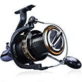 YONGZHI Spinning Reels 9000 Surf Fishing 13+1 Stainless BB Ultra Smooth Powerful Offshore Fishing Reels