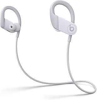 Powerbeats高性能ワイヤレスイヤフォン - Apple H1ヘッドフォンチップ、Class 1 Bluetooth、最長15時間の再生時間、耐汗仕様のイヤーバッド - ホワイト