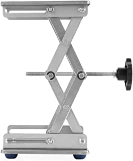 Stainless Steel Laboratory Lifting Platform Stand Scissor Rack 150150250mm-Lab & Scientific Supplies Glassware & Labware
