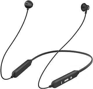 【Bluetooth5.0進化版】 Bluetooth イヤホン 高音質 SeoBiog IPX5防水 低音重視 人間工学設計 12時間音楽再生 マグネット搭載 CVC6.0ノイズキャンセリング マイク内蔵 ブルートゥース イヤホン ワイヤレスイヤホン ヘッドホン ブラック