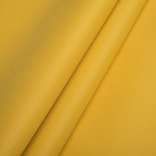Pure Textilien Polyester Oxford 600D 1lfm - Wasserdicht, Outdoor Stoff, Segeltuch, Abdeckplane (Gelb)