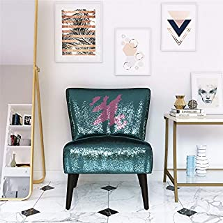 Novogratz Mazzy Accent chair, Teal (B07PPR79JS)   Amazon price tracker / tracking, Amazon price history charts, Amazon price watches, Amazon price drop alerts