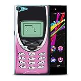 Stuff4 Hülle/Hülle für Wiko Highway Star 4G / Rosa Nokia 8210 Muster/Vintage Handys Kollektion