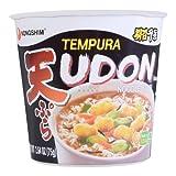 (Pack of 6) Nongshim Tempura Udon Cup Noodle Soup 2.64 OZ
