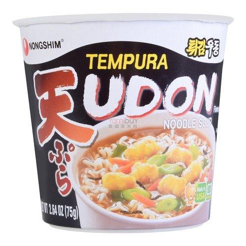 Pack Ranking TOP1 of 6 Nongshim Tempura Udon Soup OZ Noodle Cup 2.64 Sale item