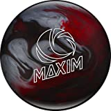 Ebonite Maxim Captain Odyssey Bowling Ball, Red/Silver/Black Cherry, 10 lb
