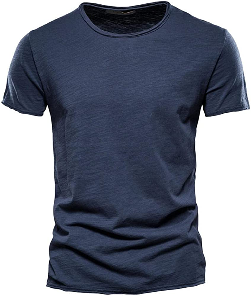 Ranking TOP6 Special Campaign Mens Fashion Casual Short Sleeve Summer T-Shirts Comfortable Top