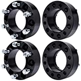 """MAYASAF Hubcentric Wheel Spacers [2"""" Thick, 4 Pack, 6..."""