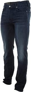 Seven for All Mankind Slimmy Slim Straight Leg Luxe Performance in Ocean Vista Mens