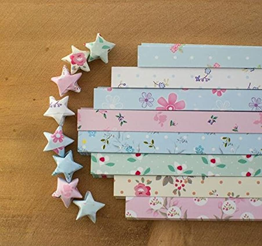 Maggicoo 400 Sheets Lovely Cute Star Folding Paper Lucky Wish Star Origami Paper (9)
