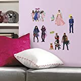 RoomMates Descendants Peel And Stick Wall Decals,24 Count - RMK2850SCS,Multicolor