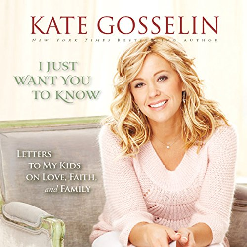 I Just Want You to Know audiobook cover art