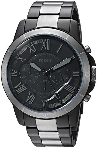 Fossil Men's FS5269 Grant Sport Chronograph Two-Tone Stainless Steel Watch