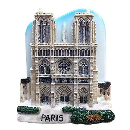 Paris France Monde 3d Résine solide Aimant de réfrigérateur Collection Voyage souvenir Tourist Cadeau Maison et décoration de cuisine magnétique Autocollant à partir de Chine