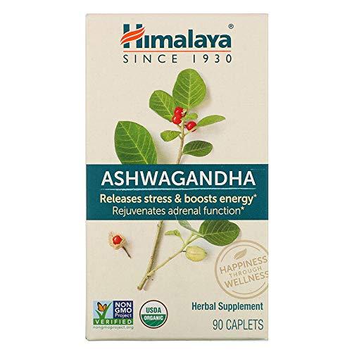 Himalaya Herbal Ashwagandha 90 Caplets, 90 g