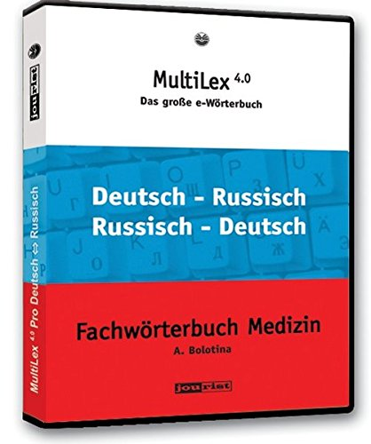 MultiLex 5.0 Pro Russisch-Deutsch/Deutsch-Russisch für MAC OS X: 245.000 Wörter und Wendungen. E-Wörterbuch. für MAC OS X.