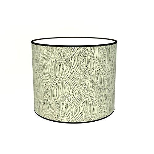 Abat-jours 7111304581324 Imprimé Filo Lampe de Chevet, Tissus/PVC, Multicolore