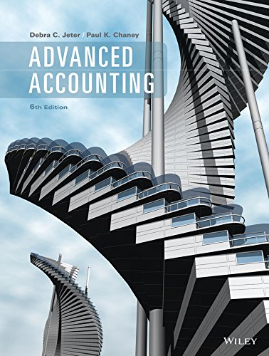 Advanced Accounting 6e Binder Ready Version + WileyPLUS Registration Card
