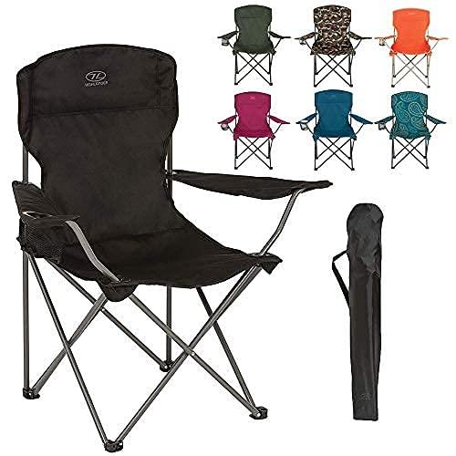 Highlander Lightweight Durable Compact Folding Camp Chair - Portable Chair...