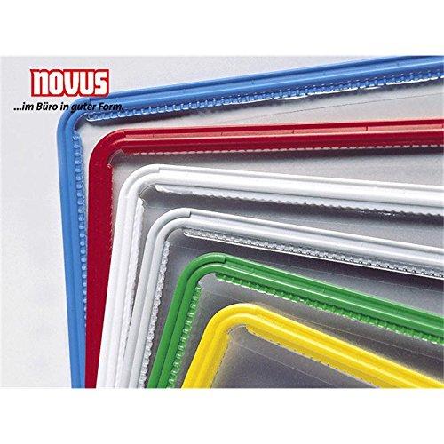 Novus zichtbord (DIN A4, heldere harde folie) geel