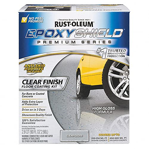1 gal Rust-Oleum Brands 292514 Clear EpoxyShield Premium Clear Coating Pack of 1