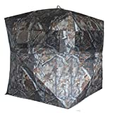 THUNDERBAY SPUR Collector 2 Person Hunting Blind, Portable Ground Blind with Silent Sliding Window