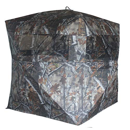 THUNDERBAY SPUR Collector 2 Person Hunting Blind, Portable Ground Blind with...