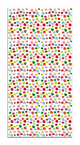 Panorama Agatha Ruiz de la Prada Alfombra Vinílica Motivos Básicos Círculos Colores 60x200cm - Alfombra Cocina Vinilo - Alfombra Salón Antideslizante e Ignífuga - Alfombras Grandes - Alfombras PVC