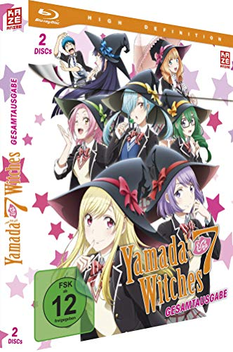Yamada-Kun & the Seven Witches - Gesamtausgabe - [Blu-ray]