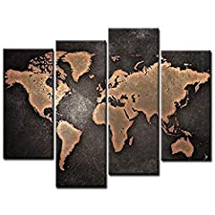 1:【Canvas Wall Art】 Canvas pictures are a simple and wonderful way to create living spaces. Canvas Prints Give your home a fantastic style and bring joy and good luck to you and your family by adding glory to the room. 2:【Ecological And Safety】Printe...