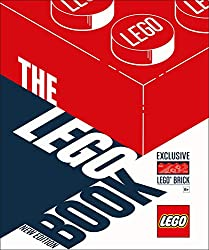 Image: The LEGO Book, New Edition: with exclusive LEGO brick, by Daniel Lipkowitz (Author). Publisher: DK (October 2, 2018)