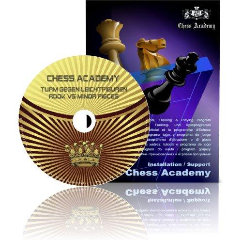 Preisvergleich Produktbild Chess Academy Mittelspielstrategie: Turm gegen Leichtfiguren