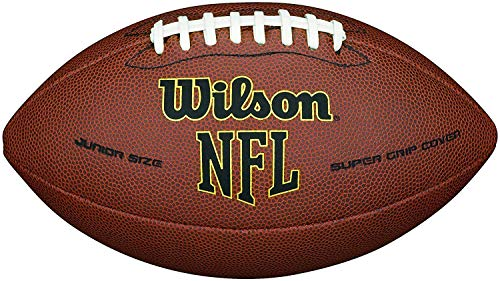 Wilson NFL Super Grip Official Football Brown Junior