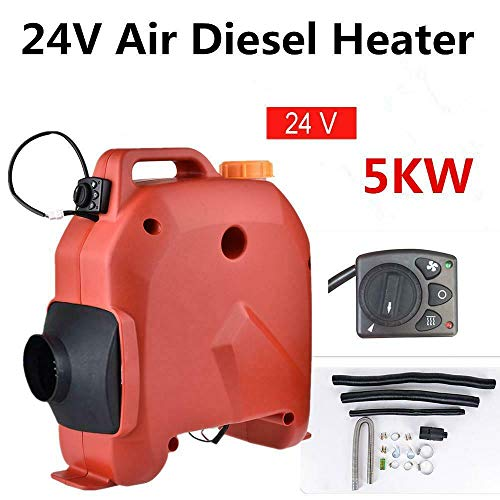 Buy Discount 5KW 24V Air Diesel Heater Planar 1 Holes Parking Heater For Trucks Boats Bus