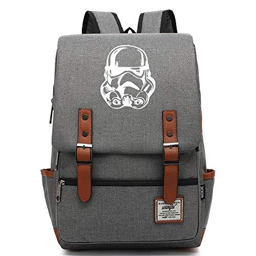 QAQB Fashion Leisure Planet Storm Soldier Youth Student Schoolbag Zaino Per Il Tempo Libero Per Uomini E Donne-15_14 Pollici