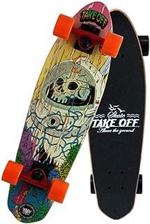 ZCPDP Deck Penny Board Tablas de Skate para Adultos de Cuatro Ruedas Límite Antideslizante Tabla de Baile Profesional para Hombres y Mujeres Apto para Principiantes y Adolescentes