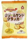 サンコー サンコー クリームサンドクラッカー メープル風味(105g)