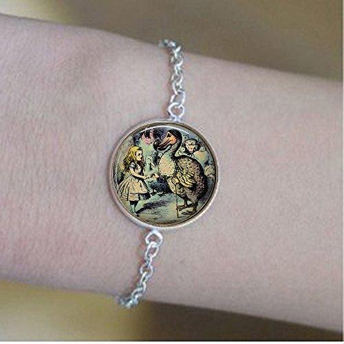 qws Adventures in Wonderland Illustration - Alice The Dodo Bird - Dodo Bird Bracelets Dodo Bracelets - Wonderland Bracelets
