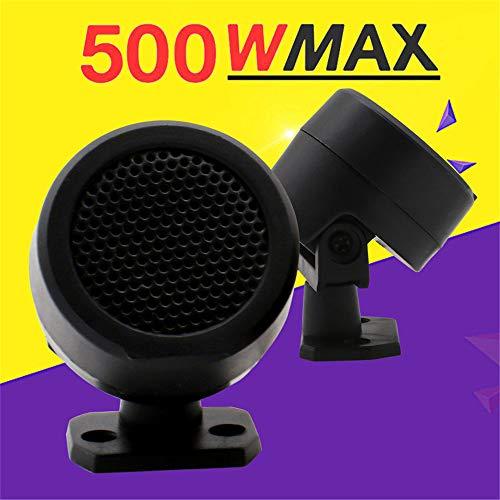 gfyee 2* Marine Box Lautsprecher wasserdichte Stereo Boot Lautsprecher Wandmontage 2 Way 500W Schwarz Farbe Geeignet für alle Car-Audio-Systeme mit 12V Gleichstromversorgung