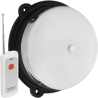 BeMatik - Timbre eléctrico 220 Vac de Campana cromada 150 mm para Alarma