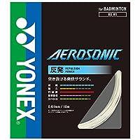 YONEX「AEROSONIC200mロール BGAS-2」バドミントンストリング ホワイト 0.61mm